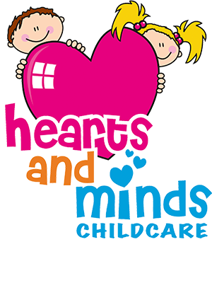 Hearts and Mind Childcare Logo